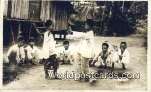 Malaya, Malaysia  Malay Boys Real Photo