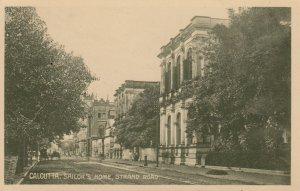 CALCUTTA , India , 00-10s ; Sailor's Home , Strand Road