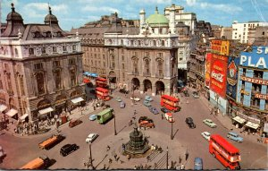 England London Piccadilly Circus 1965