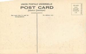 Vintage Postcard Copper Mountains Clarendon Jamaica Caribbean Hand Colored No.21