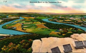 Tennessee Moccasin Bend On The Tennessee River
