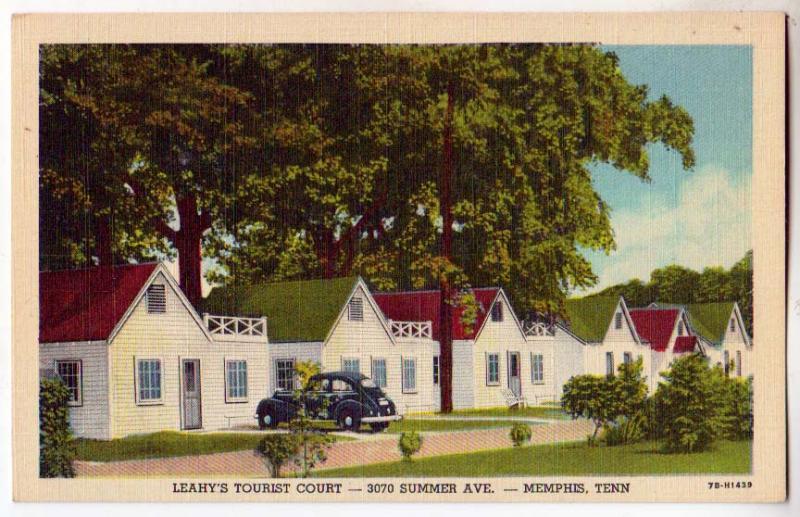 Leahy's Tourist Court, Memphis TN