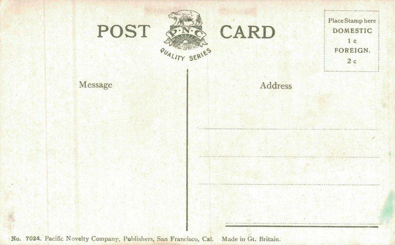 USA Shreve Building San Francisco California Vintage Postcard 05.77