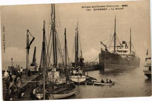 CPA Senegal Fortier 145. Konakry-Le Wharf (235265)