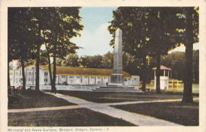 Ontario  Midland    Memorial and Arena Gardens