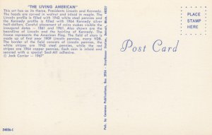 The living American , Lincoln & Kennedy , 1950-60s