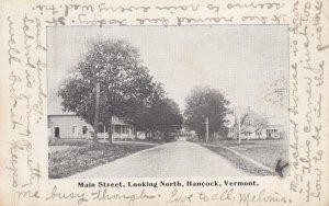 HANCOCK, Vermont, 1900-1910s; Main Street Looking North