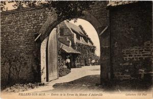 CPA VILLERS-sur-MER - Entrée de la Ferme du Manoir (475823)