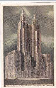 Waldorf-Astoria Hotel, Park Avenue, NEW YORK CITY, New York, 1910-1920s