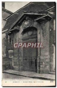 Old Postcard Bernay Old Street Hotel D & # 39Alencon