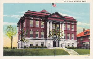 Court House Cadillac Michigan Curteich