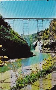 New York Castile Upper Falls Letchworth State Park