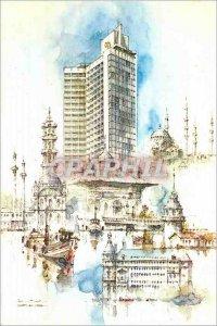 Postcard Modern Istanbul Turkey Sheraton Hotel