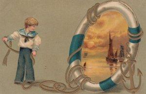 Sailor Boy & Sailboats , 00-10s