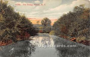 The Bridge Harris NY 1909 missing stamp