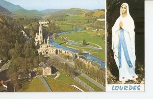 Postal 041871 : 65100 - Lourdes. General view overlooking the Sanctuary