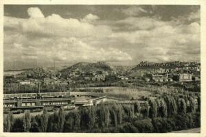 turkey, ANKARA, 19 Mayıs Stadyumu, Partial View with Stadium (1959) Postcard