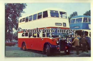tm5575 - Oldham Corporation Bus no 368 - postcard