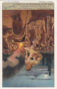 Liebig Vintage Trade Card S1299 Prometheus 1934 No 4