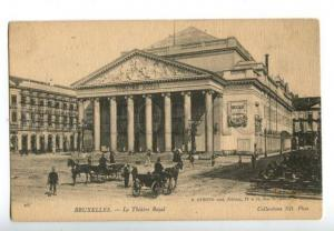 158570 BRUXELLES Belgium BRUSSELS Royal Theatre Vintage PC
