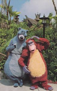 Baloo, King Louie, Jungle Book, DISNEYWORLD, 60-70´s