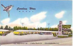 SC Orangeburg Carolina Wren Motel & Restaurant