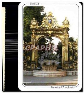Modern Postcard Nancy Fountain of Amphitrite