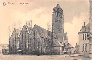 Eglsie St Brice Tournai Belgium Unused