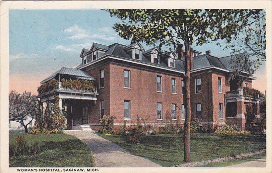 Woman's Hospital, SAGINAW, Michigan, PU-1915