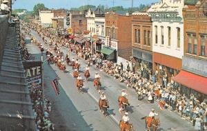 Fort Madison IA~Tri-State Rodeo Parade~Theater Frankie Avalon~Fox~Wards~1960s