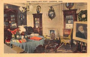 USA Longfellow's Study, Cambridge Mass.