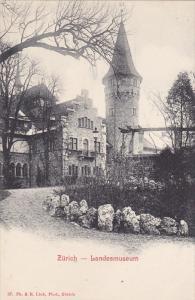 ZURICH , Switzerland, 1900-1910´s; Landesmuseum