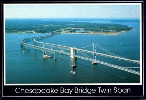 Maryland Chesapeake Bay Bridge Twin Span