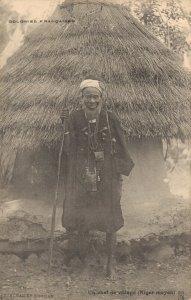 Africa Colonies Francaises Un chef de village Niger Moyen 04.87