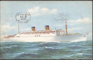 S.S. Homeric - Post Card