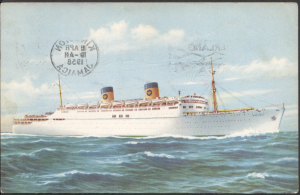 S.S. Homeric - Post Card