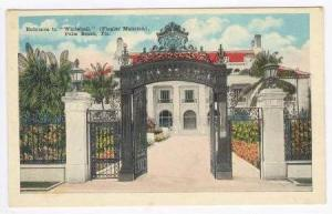 Entrane to Whitehall, (Flagler Mansion), Palm Beach, Florida,00-10s