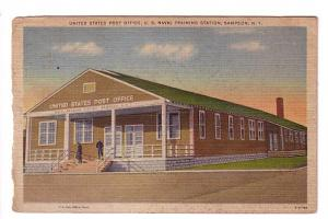 United States Post Office, U S Naval Training Station, Sampson, New York, Fre...
