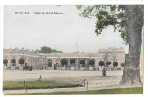 Versailles Palais Grand Trianon Palace Facade Postcard
