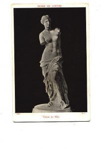 Statue, Venus de Milo, Louve, France