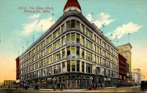 Minnesota Minneapolis The Glass Block 1914