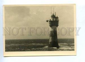 179573 GERMANY lighthouse old photo postcard
