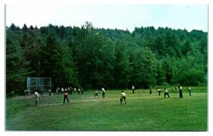 1950s/60s Camp Notre Dame, Spofford, NH Postcard