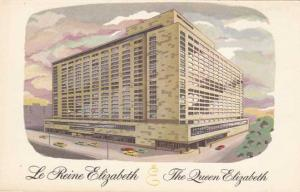 The Queen Elizabeth Le Reine Elizabeth Hilton Hotel in Montreal QC Quebec Canada