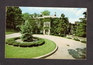 NJ Hobart Manor William Paterson College of New Jersey Postcard Wayne