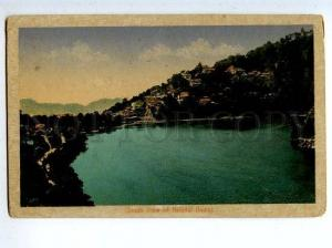 130233 South View of NAINITAL India Vintage postcard