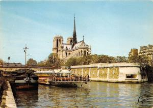 BF37389 paris notre dame de la seine france  Boat Ship Bateaux
