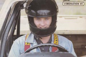 Stuart Wolfenden as Mark Casey F1 Driver Coronation Street Vintage Rare Postcard