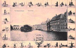 vijvergerg Gravenhage Holland 1907 Missing Stamp