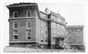 Medford Oregon~Sacred Heart Hospital~1920s Postcard